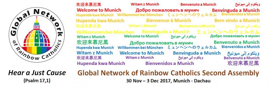Globālā Varavīksnes katoļu tīkla (Global Network of Roman Catholics – GNRC) 2. Asambleja 2017. g. 30. novembris – 3. decembris, Minhene